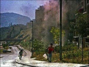Sarajevo under Siege by Rikard Larma 1992