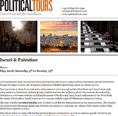 download Israel and Palestine Tours 2018 brochure
