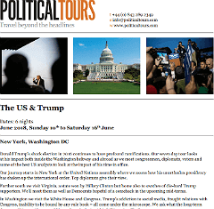 download USA Trump tours 2018 brochure