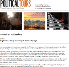 download Israel and Palestine Tours 2020 brochure