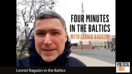 4 mins i the Baltics with Leonid Ragozin